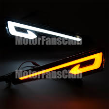 nissan altima yellow engine light new led daytime running light fog lamp drl for nissan altima teana