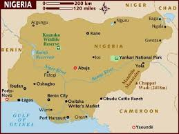 map of nigeria africa map of nigeria