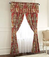 Rose Colored Curtains Window Treatments Curtains U0026 Valances Dillards