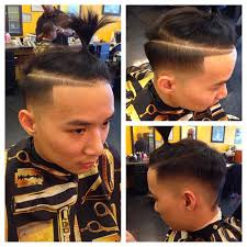 ponytail haircut for me shaved sides 50 popular and trendy asian men hairstyles 2016 atoz hairstyles