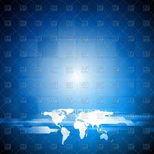 Free World Map Abstract Tech Bright Background With World Map Royalty Free Vector