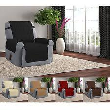 Quilted Recliner Covers Recliner Slipcover Ebay