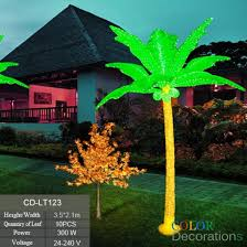 outdoor palm tree l cd lt123 led lighted coconut tree kwai tree palm tree lights light