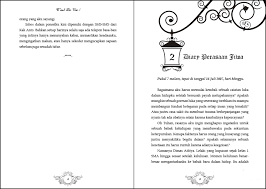membuat novel di ms word cara layout novel malkas media