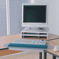 Desk Corner Sleeve Corner Keyboard Adjuster From Posturite