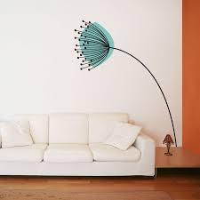 dandelion in the wind wall decal sticker dandelion in the wind wall art decal