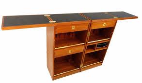 Flip Top Bar Cabinet Furniture Classic Mid Century Modern Teak Bar Cabinets Dyrlund