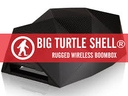 Rugged Boombox Go Anywhere With This Rugged Boombox The Big Turtle Shell