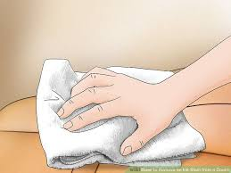 How To Remove Stain From Upholstery 3 Ways To Remove An Ink Stain From A Couch Wikihow