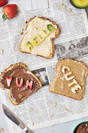 Fun Breakfast For Dinner Ideas How To Make Fun Conversation Toast The Butter Half