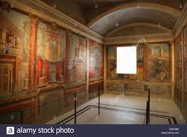 Wall Scenes by Roman Wall Painting 50 40 Bc Second Style Colored Architectural