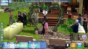 wedding arches in sims 3 the sims 3 generations wedding party ceremony expansion pack hd