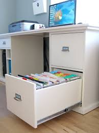 Desk With Filing Cabinet Drawer Picturesque Desk With Filing Cabinet Drawer For Organization