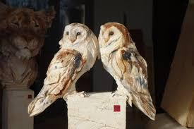 impressive wooden animal sculptures by jürgen lingl rebetez