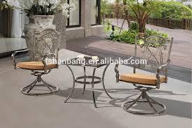 premium quality garden patio terrace deck cast aluminum bronze