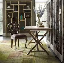 Rustic Wooden Desk Palma Rustic Whitewash Reclaimed Wood Desk Zin Home