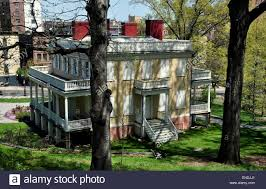 side porches new york city south front with center doorway and side porches of