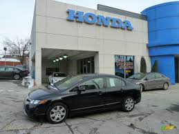 2008 honda civic lx sedan in nighthawk black pearl 303247 jax