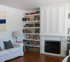 Fireplace Mantels With Bookcases Remodelaholic Built Ins