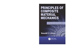 gibson principles of composite material mechanics 3rd edition c2012