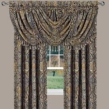 Bed Bath And Beyond Window Valances J Queen New York Venezia Window Curtain Panel And Valance Bed