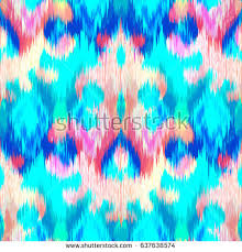 abstract ethnic ikat pattern background traditional stock