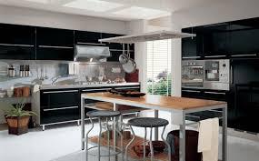 cuisine moderne noir et blanc cuisine blanc et noir dco cuisine blanc et le de zabelle