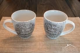how to make a diy sharpie mug that u0027s washable