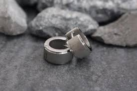 mens earrings thick earrings for men huggie earrings small silver hoop