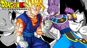 dragon ball fan manga dragon ball z super vegito vs lord beerus fan manga review youtube