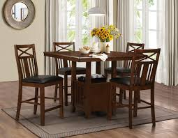 5pc gathering table counterheight dinette set bel furniture