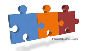 how to create 3d puzzle pieces diagram 3d powerpoint series