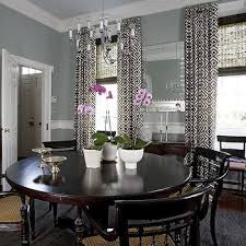 Curtains For Dining Room Ideas Layered Dining Room Curtains Design Ideas