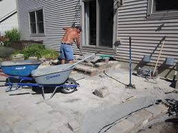 Building Patios by Charming Making A Patio With Pavers Design U2013 Building Patio With