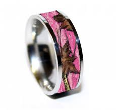 camo wedding bands camo ring titanium wedding band camo wedding ring birthday
