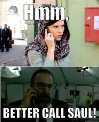 Better Call Saul Meme - better call saul meme homeland saul on bingememe