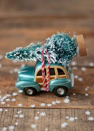 Mini Christmas Tree With Decorating Kit by Car With Christmas Tree Diy Kit Decor To Adore