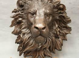lion foo dog free shipping 17 bronze sculpture fu foo