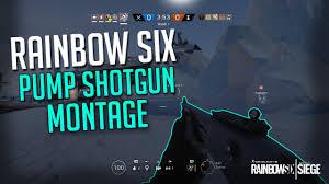 siege zodiac rainbow six siege shotgun montage
