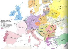Map Of Eurpoe Ethnic Map Of Europe Pre Ww1 808x589 Mapporn