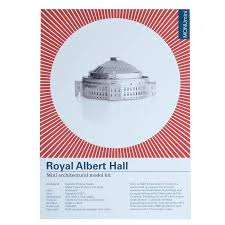 Royal Albert Hall Floor Plan by Albert Hall Barbican Post Office Model Kit By Another Studio