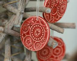 white tree ornaments lace ceramic home decoration