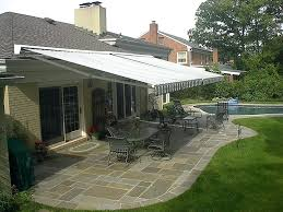 Installing Retractable Awning Before Profile Gutters Installation Retractable Umbrella Awning