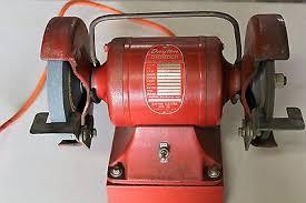 Dayton Bench Grinder Manual Vintage Dayton Bench Grinder 12393 G 1 4 Hp 3450 Rpm Works Great