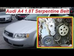 audi a4 2004 accessories audi a4 b6 serpentine belt replacement diagram and how to install