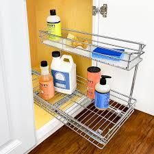 sink kitchen cabinet organizer 451118 undersink cabinet organizer 11 5 wide 18 14 high