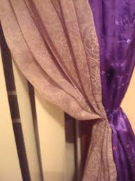 Curtains With Purple In Them S Insatiable Fable Curtain Project