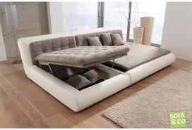 federkern sofa sofa mit schlaffunktion und bettkasten 2 scifihits