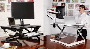 bureau pour travailler debout faites du vélo à votre bureau et travaillez debout sans changer de