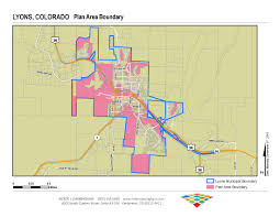 Map Of Colorado Springs Area by Urban Renewal Authority Faqs Lyons Co
